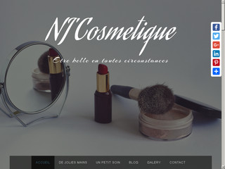 Détails : Nj'Cosmetique onglerie, mascara semi-permanent, vente de maquillage
